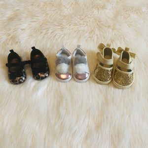 Other - Baby girl shoe lot